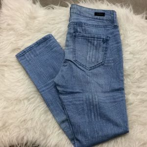 Liverpool Jeans Compant straight leg printed jeans
